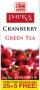 IMPRA CRANBERRY zelený čaj